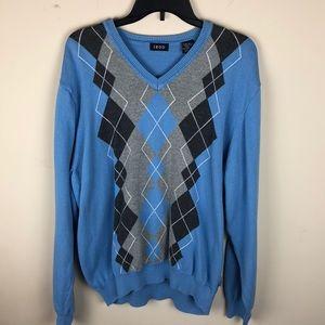 Izod v neck sweater XL